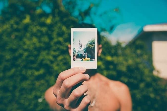 polaroid kant en klaar camera